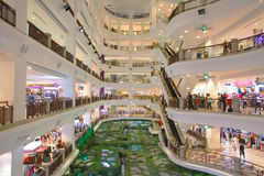 Shopping Mall at Kuala Lumpur Royalty Free Stock Photography