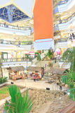 Shopping Mall Malaysia. 1Utama Shopping Mall with stairs and bungalows on the ground floor Royalty Free Stock Images
