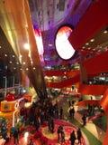 Shopping Mall : Megabox in Hong Kong Royalty Free Stock Photos