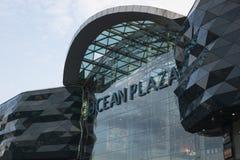 Shopping mall ocean plaza. In Kiev Stock Photos