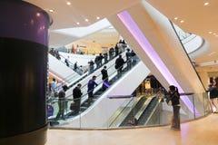Shopping Mall at, Paris Stock Image