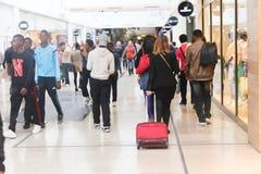 Shopping Mall at Paris Stock Image