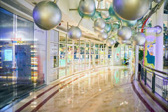 Shopping mall in Petronas Twin Towers Royalty Free Stock Photos