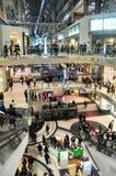 Shopping mall. Photo was taken in shopping center before Halloween in Toronto City, Ontario province, Canada. November 2013 Stock Photo