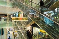 Shopping mall in prague Stock Photo