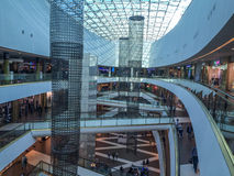 Shopping mall in Russia Royalty Free Stock Photo