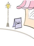 Shopping Mall Sale Royalty Free Stock Images