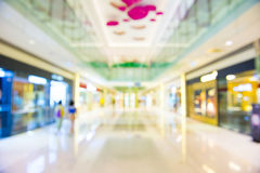 Shopping mall, shallow depth of focus. Royalty Free Stock Photos