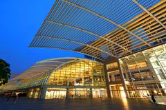 Shopping mall in Singapore . MBS Stock Images