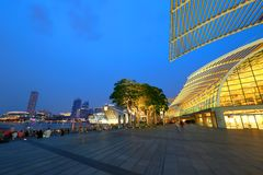 Shopping mall in Singapore . MBS Stock Photography