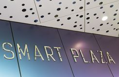 Shopping mall Smart Plaza. In Kiev Royalty Free Stock Photography