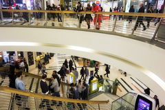 Shopping Mall Staircase Stock Images