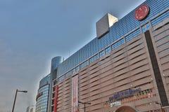 The shopping mall at Tenjin. 2016 Royalty Free Stock Photography