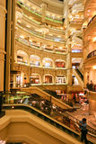 Shopping Mall, Times Sqare, Malaysia. Luxury Shopping Mall with shops and restaurants, Times Square, Kuala Lumpur, Malaysia Stock Image