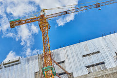 Shopping mall under construction Royalty Free Stock Photos
