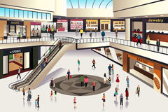 Shopping mall Royalty Free Stock Photos