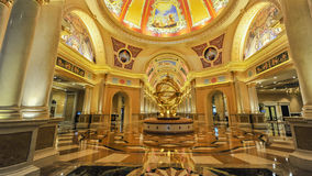 Shopping Mall in The Venetian Macao Stock Image
