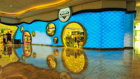Shopping Mall in The Venetian Macao. Casino along the Canal Royalty Free Stock Photos