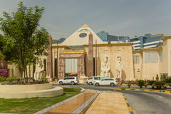 Shopping mall  WAFI in Dubai Royalty Free Stock Photos