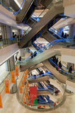 Shopping mall in Wuhan Royalty Free Stock Photography