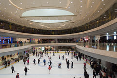 Shopping mall in Wuhan Stock Photography