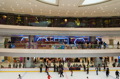 Shopping mall in Wuhan Royalty Free Stock Image