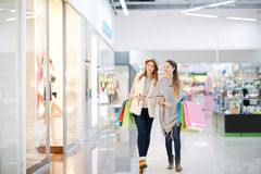 In shopping mall Stock Images