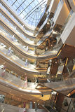 Shopping malls, business, shopping, building interior Royalty Free Stock Photos