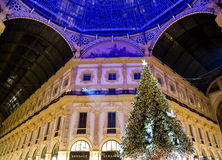 Shopping malls The Galleria Vittorio Emanuele II Royalty Free Stock Photos