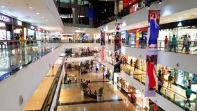 Shopping Malls in Mumbai Stock Photos