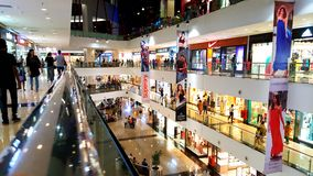 Shopping Malls in Mumbai Royalty Free Stock Photography