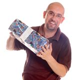 Shopping man Royalty Free Stock Images