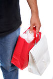 Shopping man Royalty Free Stock Image