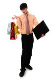 Shopping manager Stock Image
