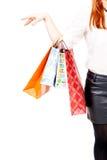 Shopping mania Royalty Free Stock Image