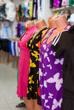 Shopping manicas!. Shopping manicas in butique. Fashion Royalty Free Stock Photo
