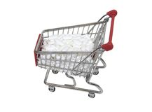 Shopping for medication Stock Photo