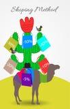Shopping Method. Concepts customer savings Stock Photography