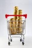 Shopping money Royalty Free Stock Photos