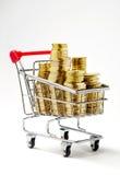 Shopping money Royalty Free Stock Image