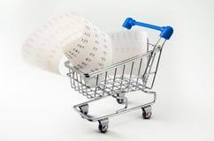 Shopping money Stock Images
