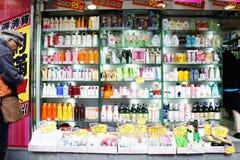 Shopping in Mong Kok Royalty Free Stock Photos