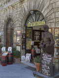 Shopping in Montepulciano Royalty Free Stock Images
