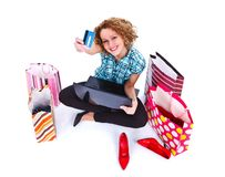 Shopping is my life Royalty Free Stock Images