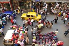 Shopping near the New Market, Kolkata, India Royalty Free Stock Photos