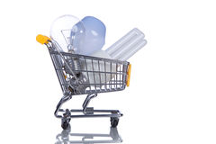 Shopping new ideas Royalty Free Stock Photo