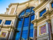 Shopping och boutique i Las Vegas Arkivfoton