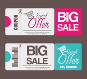 Shopping offers and sales Stock Photos