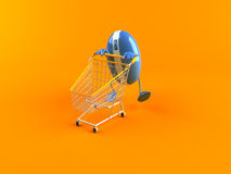 Shopping online Stock Image