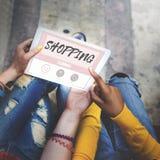 Shopping Online Buy Sale Shopaholic Concept Stock Photo